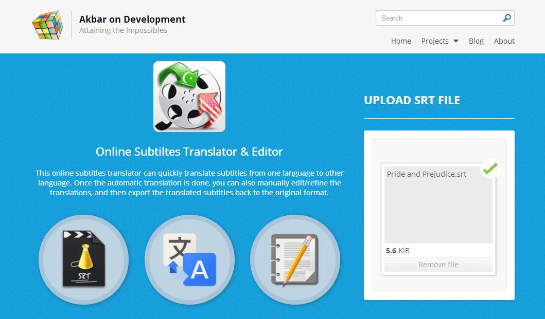 Subtitle Translator - Translate & Edit Subtitles Online for Free